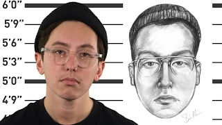 """Former NYPD forensic artist shows how to draw a """"bad guy sketch"""""""