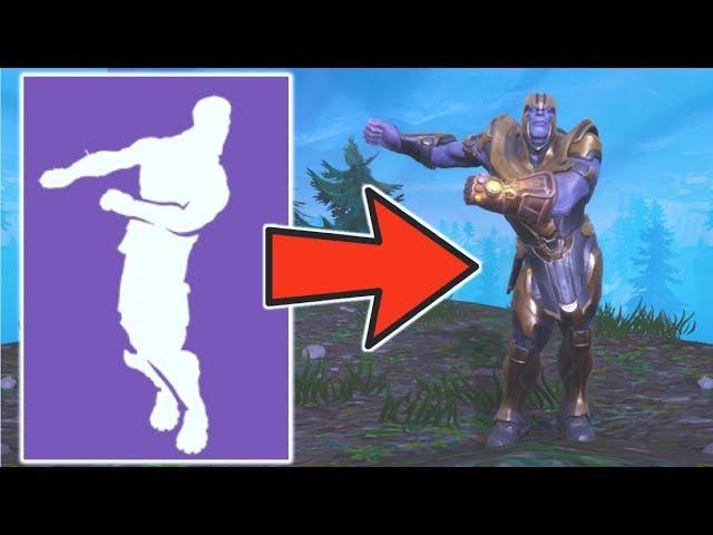 Avengers Infinity War S Thanos Isn T As Threatening In Fortnite