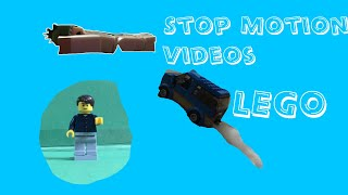 3 Short Stop Motion Videos Using LEGO And Roblox Mini figures