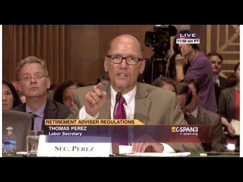 U.S. Senate: Secretary Of Labor, Thomas Perez Full Testimony