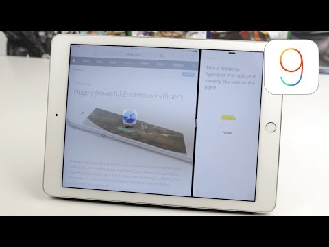 IOS 9: Split-Screen Multitasking!