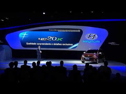2012 Sao Paulo International Motor Show Hyundai Press Conference