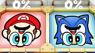 Super Mario Party MiniGames - Mario Vs Luigi Vs Rosalina Vs Peach (Master Cpu)