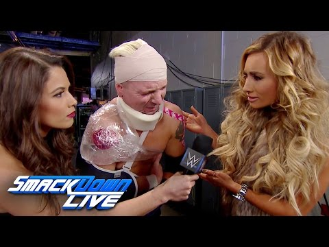 Thumbnail: Carmella comes to the aid of James Ellsworth: SmackDown LIVE, Dec. 20, 2016