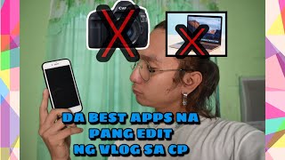HOW TO BE A VLOGER USING CELLPHONE ONLY