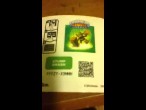 Skylanders codes unused - YouTube