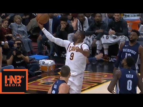 Dwyane Wade Flash Mode Activated / Cavaliers vs Grizzlies