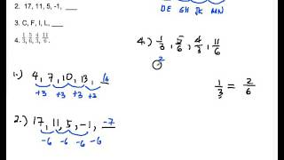 Number Sequence and Series Part 1