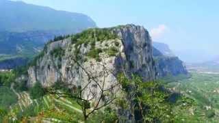Arco  Del Garda (Trentino Alto Adige) Castello Città e Collegiata dell'Assunta - videomix