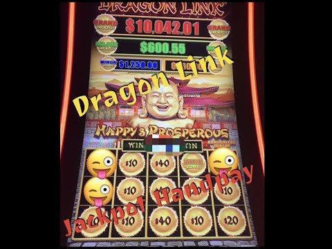 Dragon Link - $1.  $5-$15 bets - JACKPOT HANDPAY