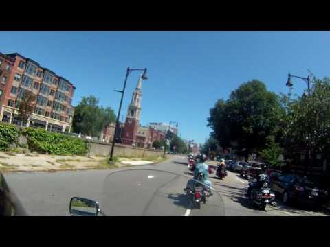 boston marathon motorcycle run