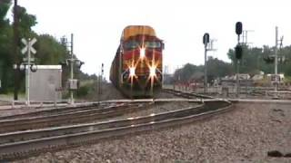 BNSF Pandhandle sub at Waynoka OK 6-9-08