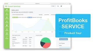 Profitbooks service is an easiest invoicing software designed specially for the providers. its packed with tones of powerful features yet super e...