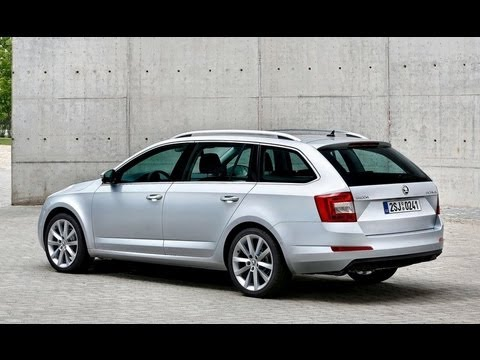 All New Skoda Octavia Combi 2014 Review From Outside Youtube
