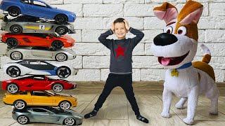 Марк и сборник любимых серий собаки Макса про машинки