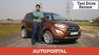 Ford EcoSport – Test Drive Review Hindi - Autoportal