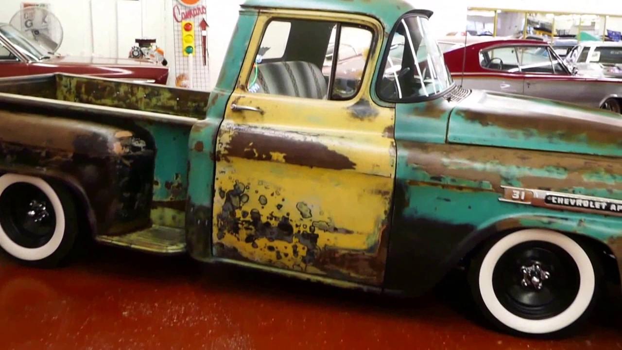 1959 Chevrolet Apache -RAT ROD PATINA SLAMMED TENNESSEE CUSTOM RARE ...