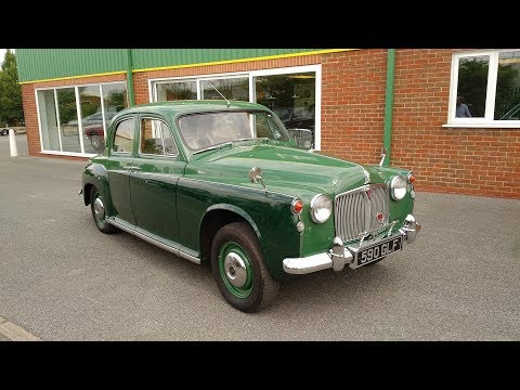 SOLD 1963 Rover P4 80 For Sale in Louth Lincolnshire