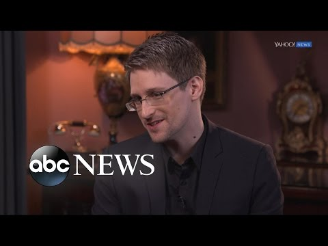 Edward Snowden Full  Interview on Trump, Petraeus, & Having No Regrets