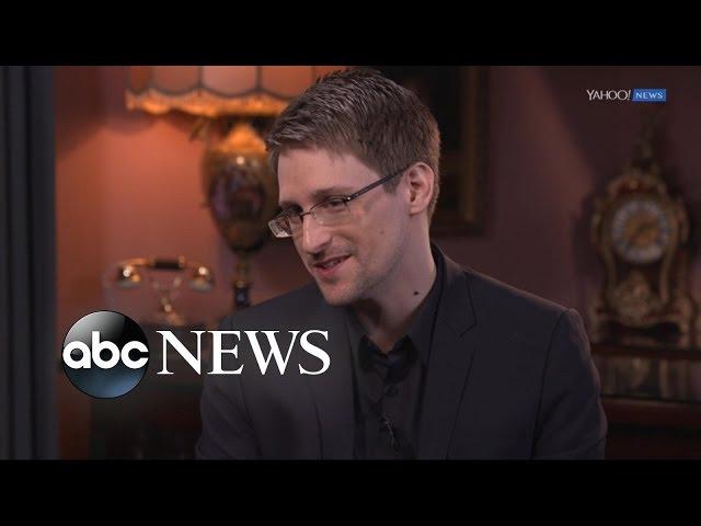 Edward Snowden Full  Interview on Trump, Petraeus, & Having 'No Regrets'