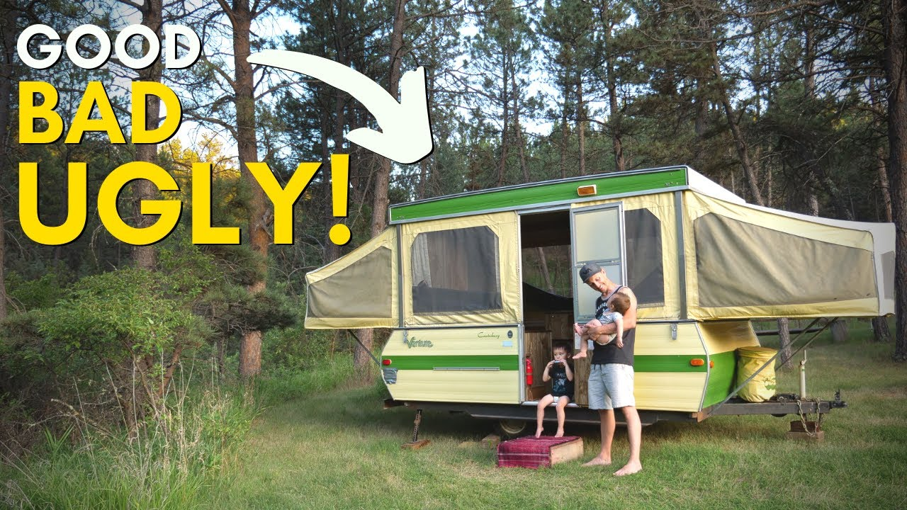 Pop Up Campers DO NOT SET UP FAST!…Plus 10 other surprising things we learned!