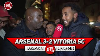 Arsenal 3-2 Vitoria SC | Emery Disrespected Ozil By Leaving Him Out The Squad!! (Livz)