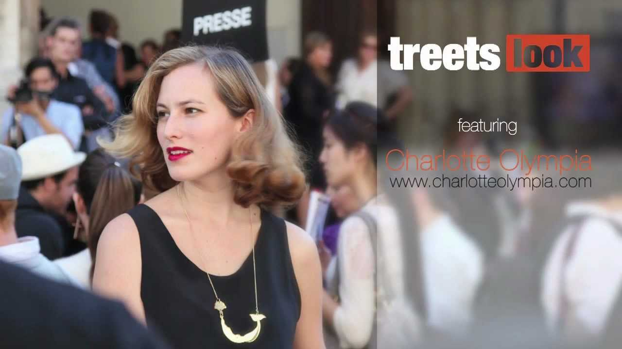 Street Style Fashion Of Charlotte Olympia At Paris Fashion