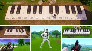 Emotes Recreated in Fortnite! This video will get 1 million views!!!