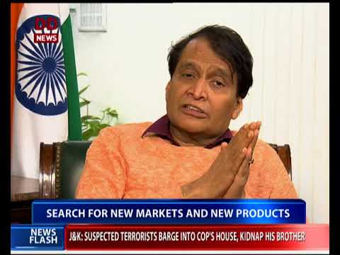 GDP growth dependent on Export growth : Suresh Prabhu, minister, commerce and Industry