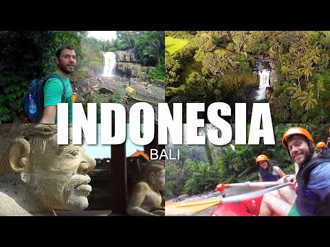 Happy Traveller in Bali, Indonesia   FULL