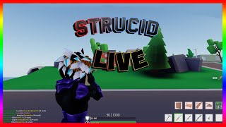 🔴ROBLOX STRUCID - ROAD TO 240 SUBS Playing With FANS! !join !discord🔴