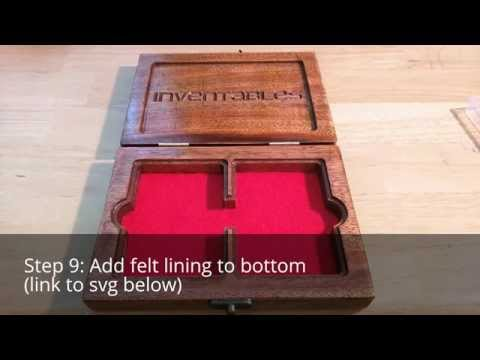Poker Card Box - Inventables