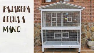 PAJARERA HECHA A MANO | My Animalsm