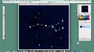 Drawing Constellations in Photoshop : Basic Drawing in Photoshop