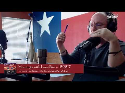 Terrence Boggs Interview on Lone Star Community Radio
