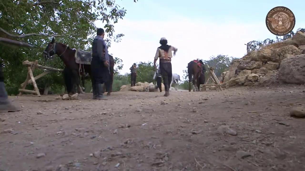 عودة حصان الزيبق إلى مغارة عكاش بعد هربه من الحارة  -  باسم ياخور -  خاتون 1