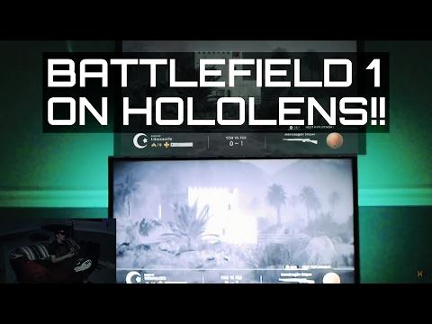HoloLens Gaming Vs. TV Gaming!!