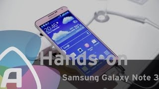 Samsung Galaxy Note 3 hands-on (Dutch)