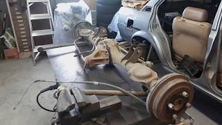 Toyota Corolla KE70 #3: Standard Diff Disassembly