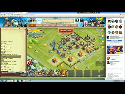 Castle Clash: The New Adventure Facebook Games Hack
