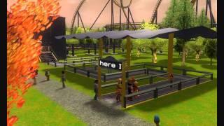 Stormphere 2: The Alfa (RCT3 Slingshot Coaster) (HD)