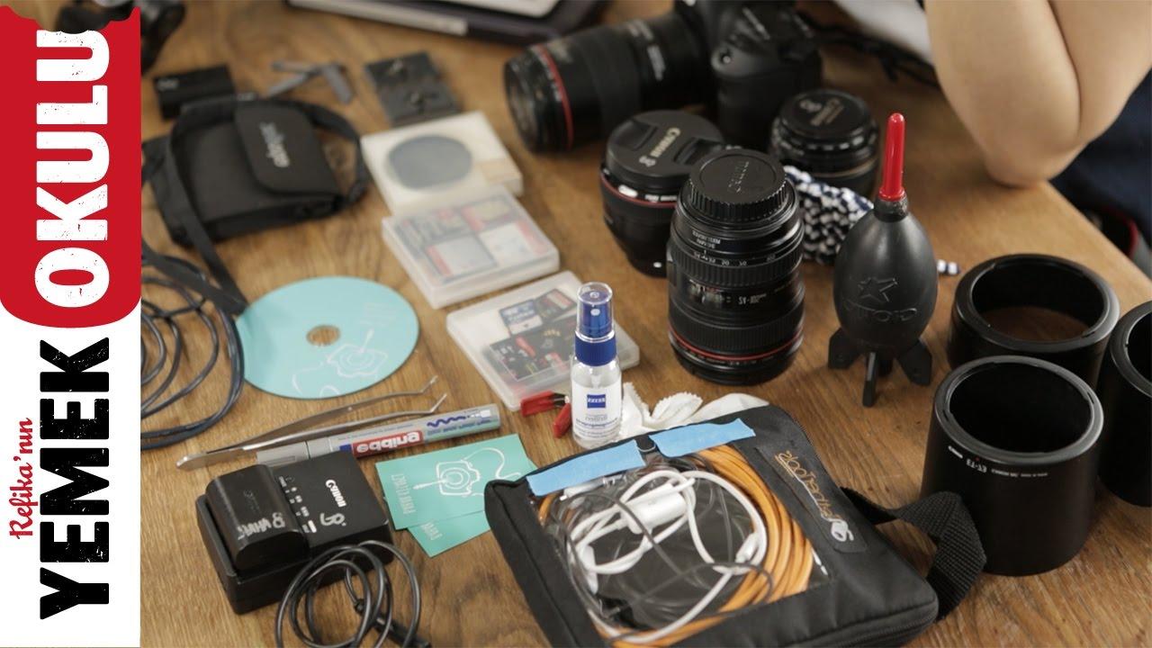 Çantamda Ne Var? | Yemek Fotoğrafçılığında Altın Kurallar