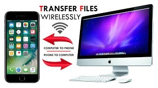 How to Transfer files from your Android phone to your PC / Mac computer With WiFi
