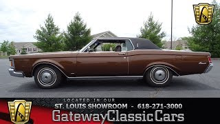 #7323 1971 Lincoln Mark III -Gateway Classic Cars of St. Louis