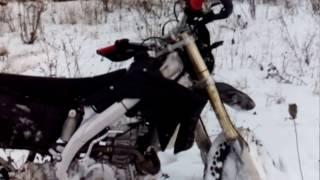 обзор мотоцикла stels  ld450 эндуро зима
