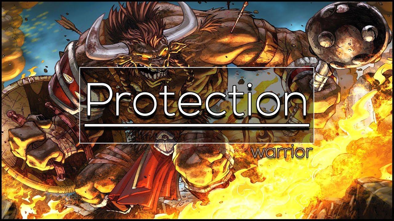 Legion - Protection Warrior   Full Tank Guide 7 3 5 [Basics PvE]