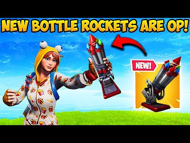* NEUE * FLASCHEN-ROCKETS SIND OP! - Fortnite Funny Fails und WTF Moments! # 461 + video