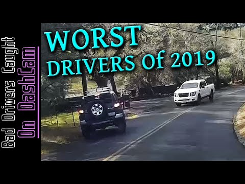 WORST DRIVERS Of 2019 Compilation -  Stupid People, Road Rage, Close Calls - California And Beyond