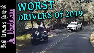 WORST DRIVERS of 2019 Compilation   Stupid People, Road Rage, Close Calls  California and Beyond