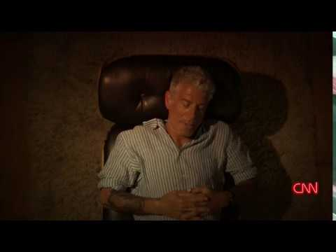 Anthony Bourdain talking to therapist. P. A. -  Argentina